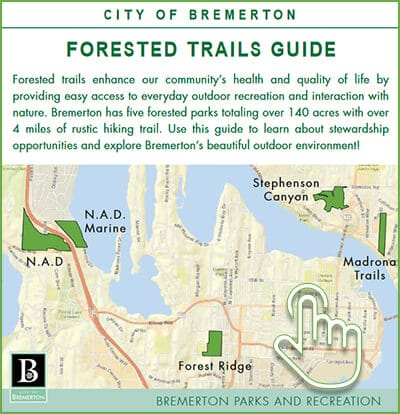 Bremerton Forested Trails Guide