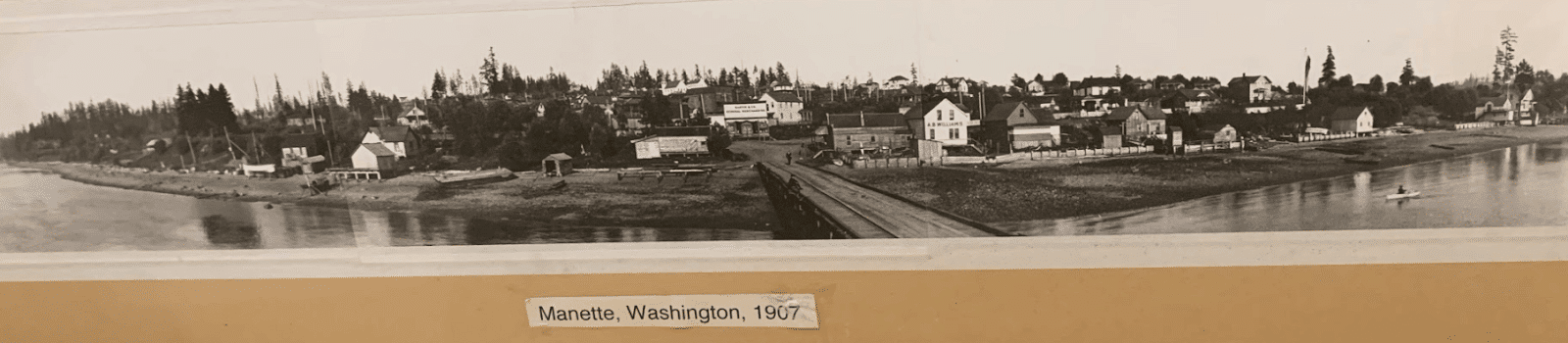 Historical Picture of Manette in Bremerton Washington