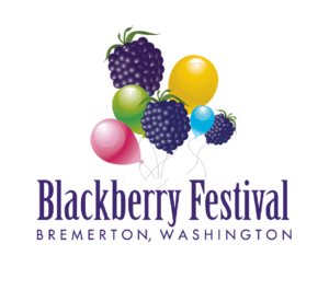 Blackberry Festival in Bremerton Washigton, Logo