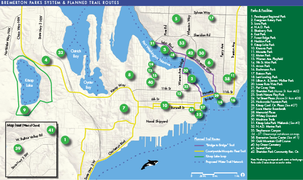 City of Bremerton Parks Guide